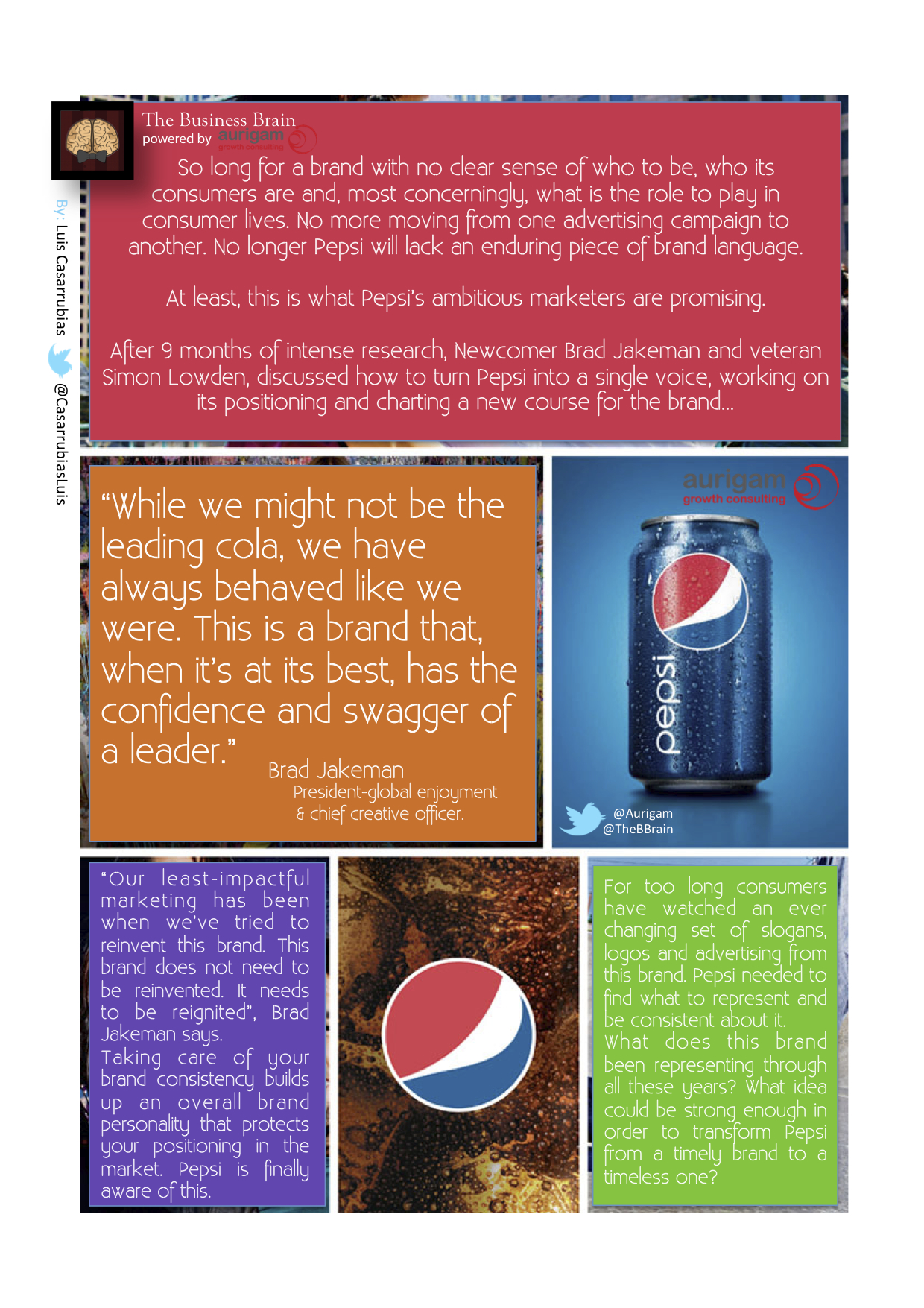 Analysis on Pepsi's 1st Global Campaign: Pepsi's Now Or